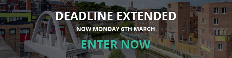 DEADLINE EXTENDED - MONDAY 6TH MARCH